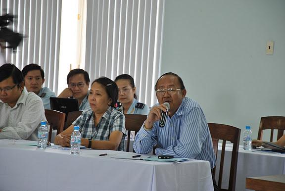 Luật Việt Á - Ông Châu Minh Nguyện phát biểu tại cuộc đối thoại doanh nghiệp