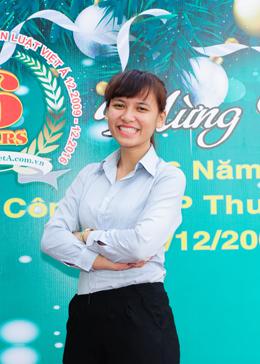 Chị Phạm Thị Thanh Mai - Công ty Luật Việt Á