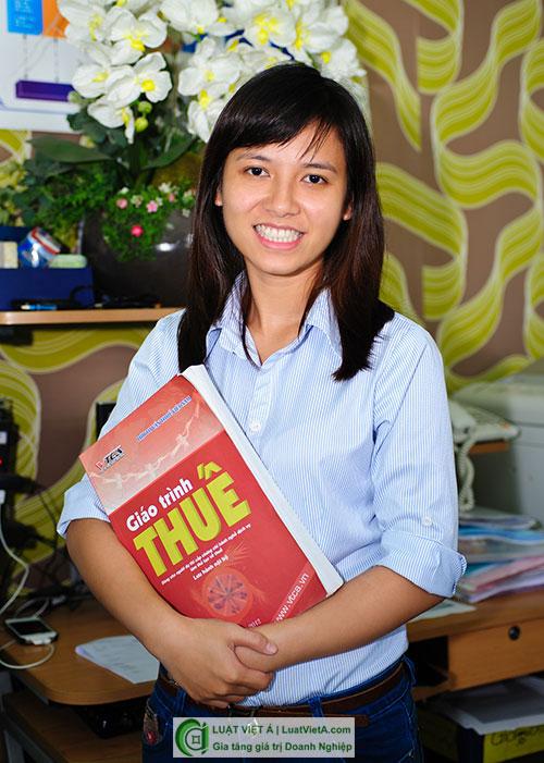 Chị Phạm Thị Thanh Mai - Phó giám đốc Công ty Luật Việt Á