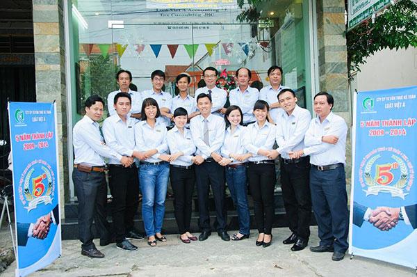 Công ty Luật Việt Á kỷ niệm 5 năm thành lập công ty
