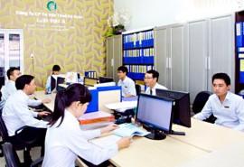 Một góc phòng làm việc của công ty Luật Việt Á