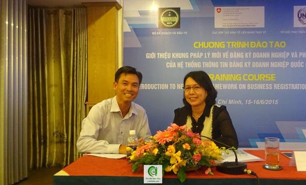 Đăng ký doanh nghiệp - Bà Trần Thị Ngọc Minh - Cục trưởng Cục Quản lý Kinh Doanh