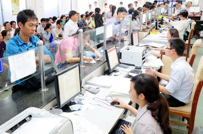 Tình hình đăng ký kinh doanh ở Sở Kế hoạch và Đầu tư TPHCM -Ảnh: Quốc Hùng